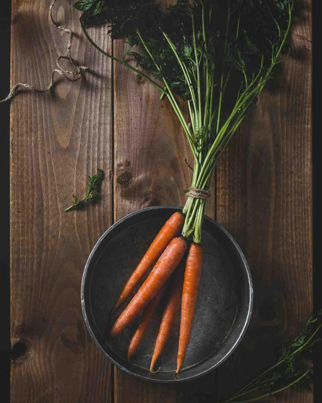 Comment choisir et conserver des carottes