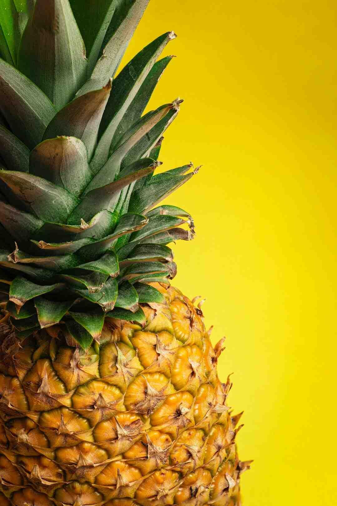Comment manger de l'ananas