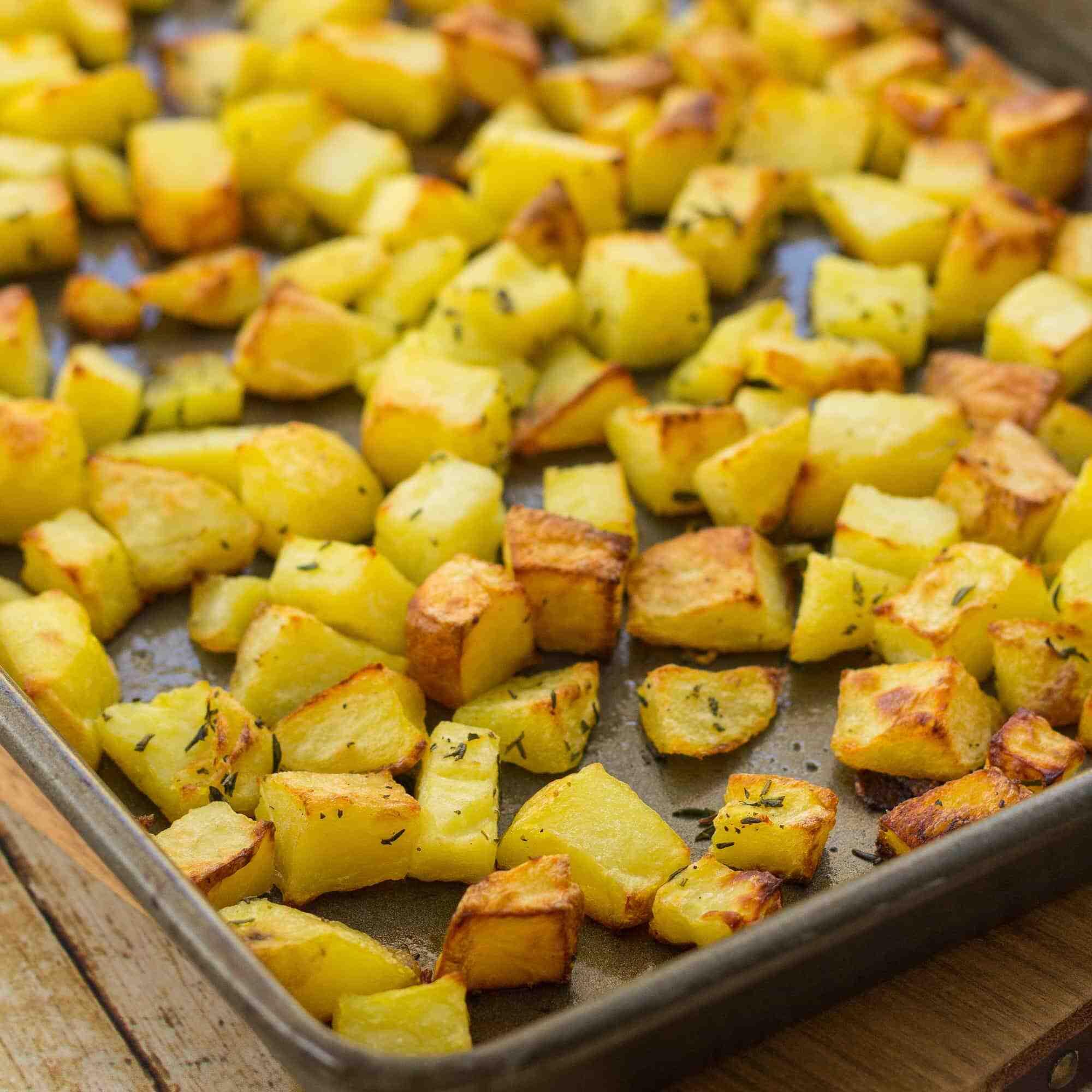 Comment faire cuire des pommes de terre en morceaux