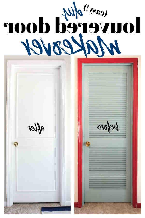 Comment renover des portes de placard ?